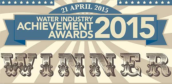Water Industry Achievement Award Winners