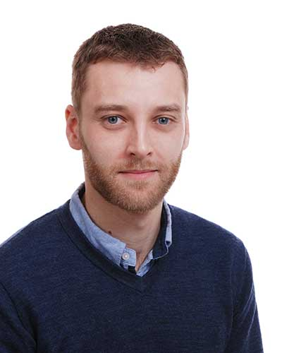 Dr Dermot Hughes Technical Manager & Co-Inventor